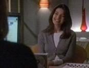 Lily a le sourire mais cet entretien n'est pas une partie de santé...